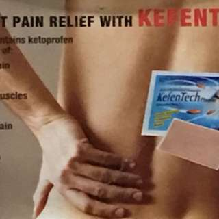 Plaster for pain relieve