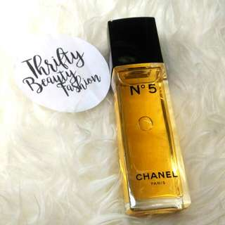 *authentic* CHANEL No.5 100ml Edt