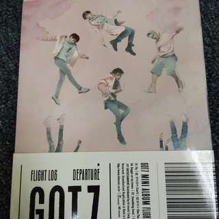 GOT7 Flight Log:Departure Rose Quartz version