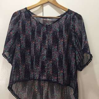 Mudd Blouse / Cover up
