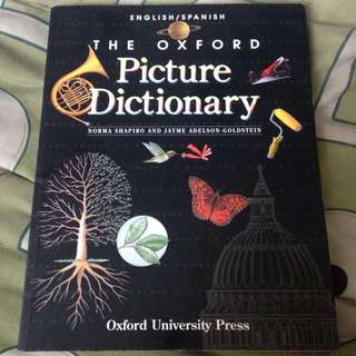 The Oxford English/Spanish Picture Dictionary