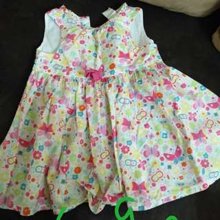 Flora Printed Girl Dress