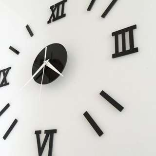 Modern wall sticker clock(cod available)