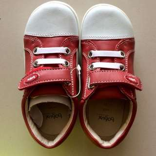 BOBUX Children Shoe - Red Polar Cap Trainer (EU21 to 24)