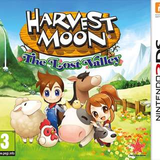 Harvest Moon 3D The Lost Valley