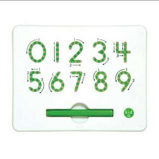 0-9 Magnet Writing Board