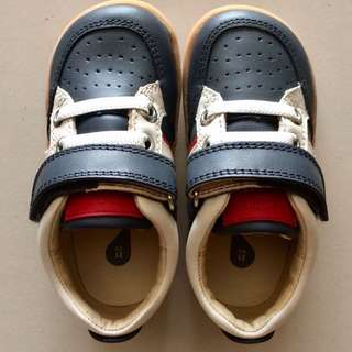 BOBUX Children Shoe - Navy Speed Racer (EU21)