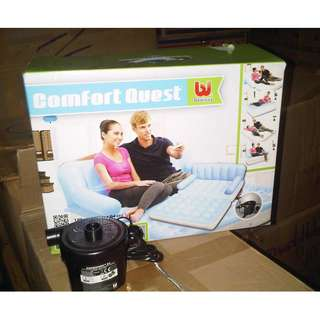Sofabed 5in1 Sofa Bed Bangku Kasur Angin Portable Murah