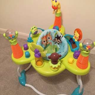 Bright Starts Jumperoo with box