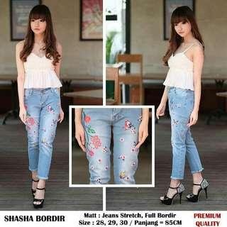 Shaaha bordir jeans