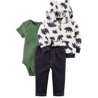 BN Carter's Jacket set