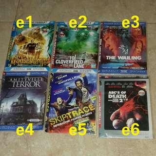 6pcs dvd bisa pilih
