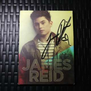 JAMES REID (SIGNED) ALBUM