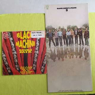 3LP. BLOOD SWEAT & TEARS/ BLACK MACHINE. 3/DOUBLE MIX (LIMITED EDITION)(3LP for the price of 1) Vinyl record