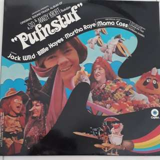 Pufnstuf A Sid & Marty Krofft Production Original Sound Track Vinyl LP Record