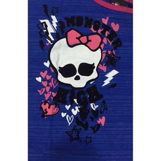Flocking Print High Quality Monster High Tee