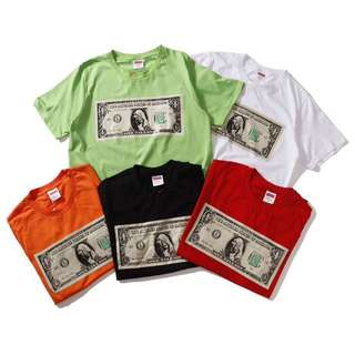 Supreme Dollar Tee Shirt