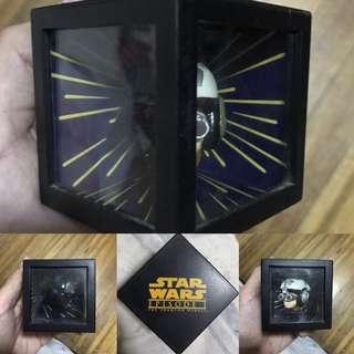 REPRICED 3D Star Wars The Phantom Menace Ep1 Darth Vader Sky Walk Mirror Box