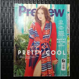 NADINE LUSTRE PREVIEW MAGAZINE NOVEMBER 2014 ISSUE