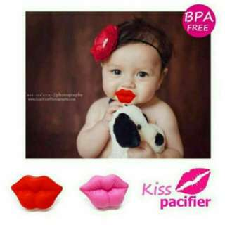 Red Kiss Pacifier