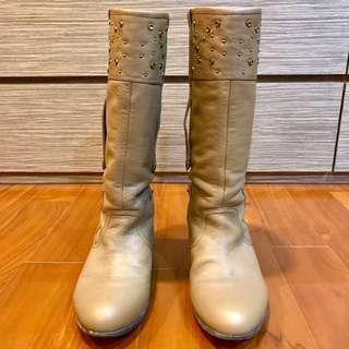 🚚 高筒馬靴(卯釘款)