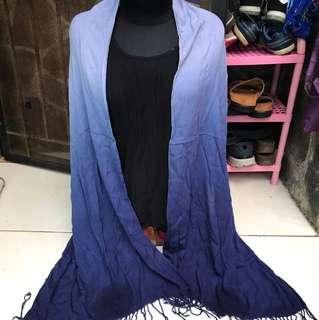 Syal/pasmina blue
