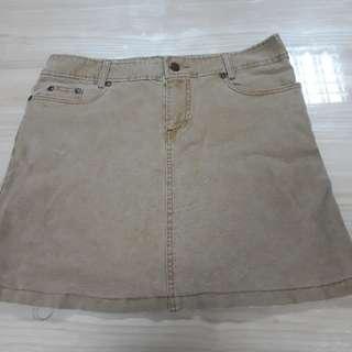 Skirt Jeans (light brown)
