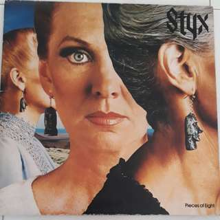 Styx Pieces Of Eight Vinyl LP Record