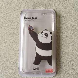 🚚 熊熊遇見你 咱們裸熊 胖達手機殼 i7 plus
