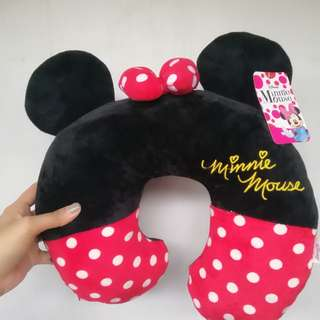 Minnie Mouse Travel Neck Pillow