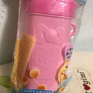 Hello kitty biscuits holder
