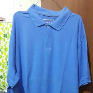 Kaos kerah bigsize preloved