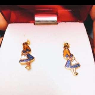 🐧Alice earrings愛麗斯耳環