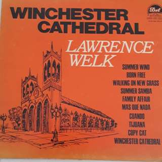 Lawrence Welk Vinyl LP Record