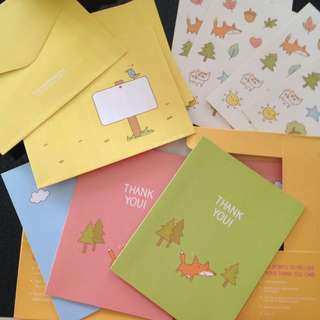 The Learning Lab (TLL) Thank You Cards Set