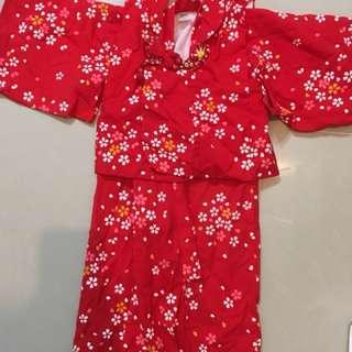 日本帶回 日本製 和服 浴衣 童