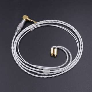 ✔️$64✔️ Shure, Westone IEM Replacement/ Upgrade Cable - MMCX Single Crystal Copper Core