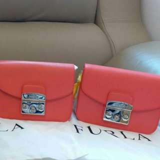 情人節禮物 FURLA Metropolis bag (calf leather 100%