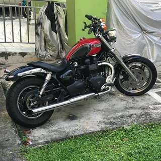 Mint and Rare Triumph Bonneville Speedmaster for sale or trade