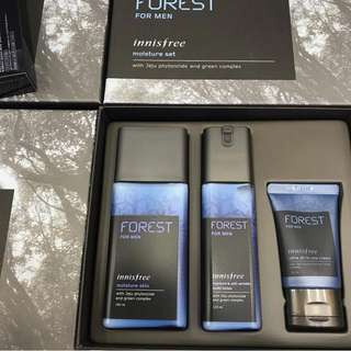 Innisfree FOREST for men set 滋潤型