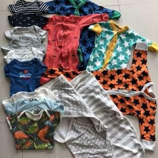 Baby Boy Clothes 0-3M