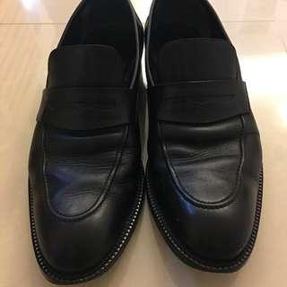 Gucci 皮鞋 黑色真皮 2手 含鞋盒 保證真品  #舊愛換新歡