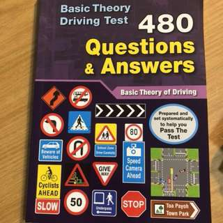 Basic Theory Test BTT book - textbook + 480 Q&A