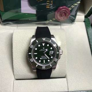 Rolex Submariner Army Green Edition