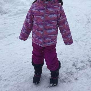 Pink Ski/Snowboard Jacket 5/6 years