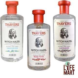 💥SALE💥 *FREE MAIL* Thayers, Witch Hazel, Aloe Vera Formula, Alcohol-Free Toner