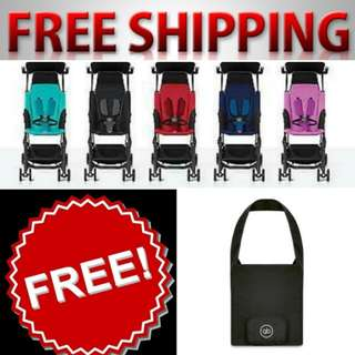 FREE SHIPPING & FREE gb Pockit Travel Bag for Every Purchase of Ori Pockit+ Stroller