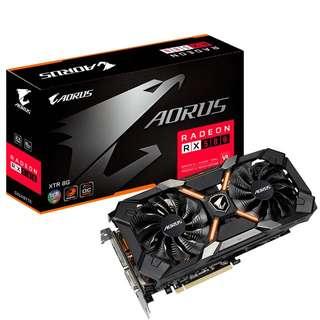 AORUS XTR RX580 8GB