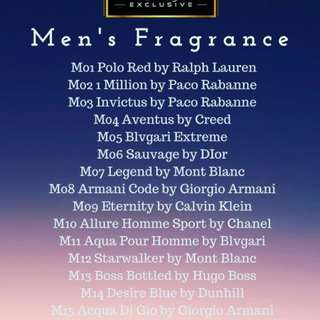 Perfume for men n women