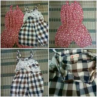 Jumpsuit for girls 2for Rm18